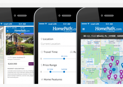 HomePath Mobile App UI